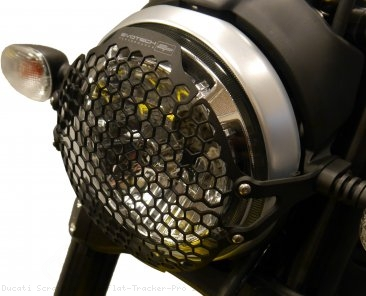 Headlight Guard by Evotech Performance Ducati / Scrambler 800 Flat Tracker Pro / 2016