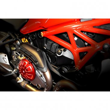 Billet Aluminum Clutch Cover by Ducabike