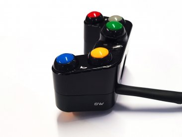 Left Hand Street Button Switch by Ducabike