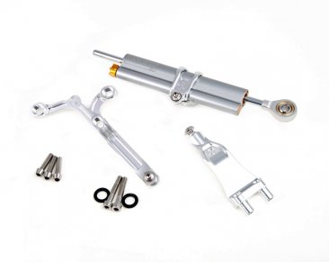 Ohlins Steering Damper Kit with Mount by MotoCorse