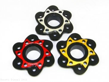 6 Hole Rear Sprocket Carrier Flange Cover by Ducabike Ducati / Diavel / 2011