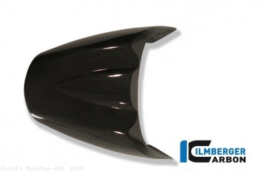Carbon Fiber Passenger Seat Cover by Ilmberger Carbon Ducati / Monster 696 / 2009