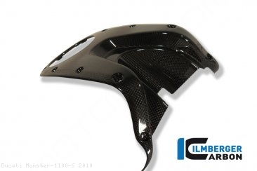 Carbon Fiber Gas Tank Center Cover by Ilmberger Carbon Ducati / Monster 1100 S / 2010