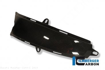 Carbon Fiber Gas Tank Center Extension Cover by Ilmberger Carbon Ducati / Monster 1100 S / 2010