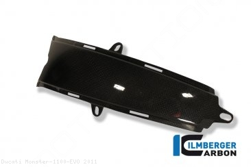 Carbon Fiber Gas Tank Center Extension Cover by Ilmberger Carbon Ducati / Monster 1100 EVO / 2011