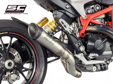 S1 Titanium Exhaust with Flapper Delete by SC-Project