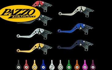 ALL COLORS LENGTHS SUZUKI 2008-2011 B-KING PAZZO RACING ADJUSTABLE LEVERS