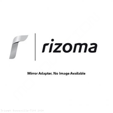 Rizoma Mirror Adapter BS814B Triumph / Bonneville T100 / 2014