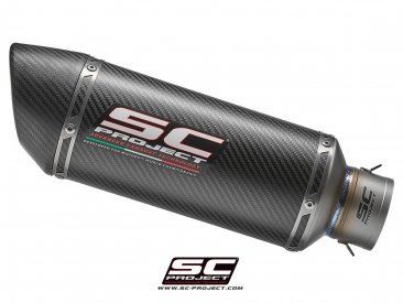 Replacement Racing Oval Exhaust Silencer by SC-Project