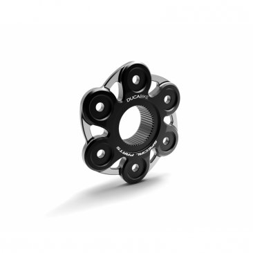 6 Hole Bi-color Rear Sprocket Carrier Flange Cover by Ducabike