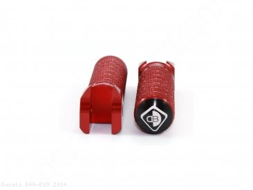 Aluminum Footpegs by Ducabike Ducati / 848 EVO / 2014