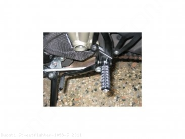 Aluminum Footpegs by Ducabike Ducati / Streetfighter 1098 S / 2011