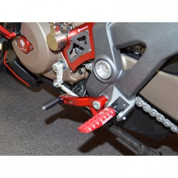 Shift Lever Arm with Folding Toe Peg by Ducabike
