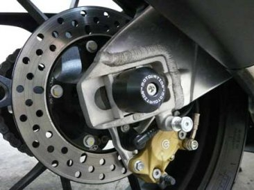 Rear Axle Sliders by Motovation Accessories Aprilia / Tuono V4 1100 Factory / 2019