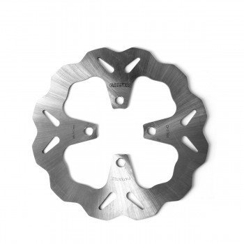 Standard Solid Mount Wave Front Brake Rotor by Galfer