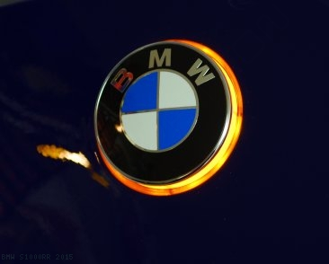 "LED ""ROUNDEL"" BMW Emblem Turn Signals Kit BMW / S1000RR / 2015"