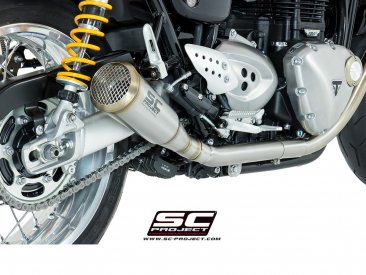Dual Conic 70s Style SHORTY Exhaust by SC-Project