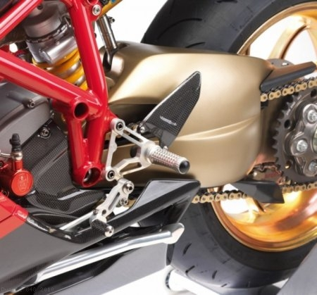 Adjustable Rearsets by MotoCorse Ducati / 848 / 2010