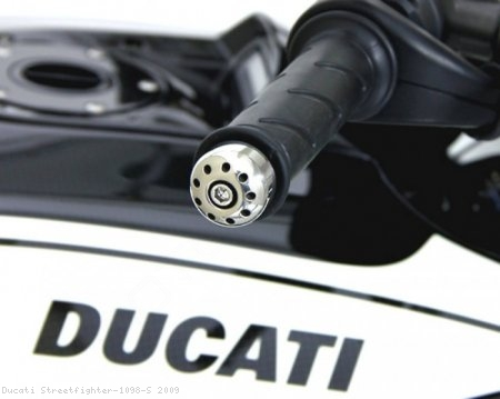Bar End Weights by Motocorse Ducati / Streetfighter 1098 S / 2009
