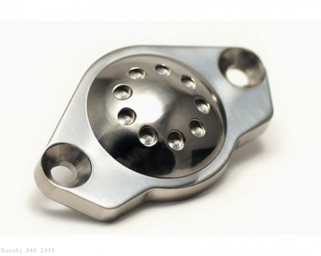 Titanium Inspection Port Plug by Motocorse Ducati / 848 / 2010