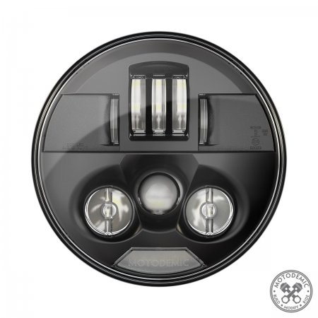 Single 7 Inch Standard LED Headlight Conversion Kit by Motodemic