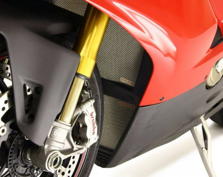 Oil Cooler Guard by MotoCorse