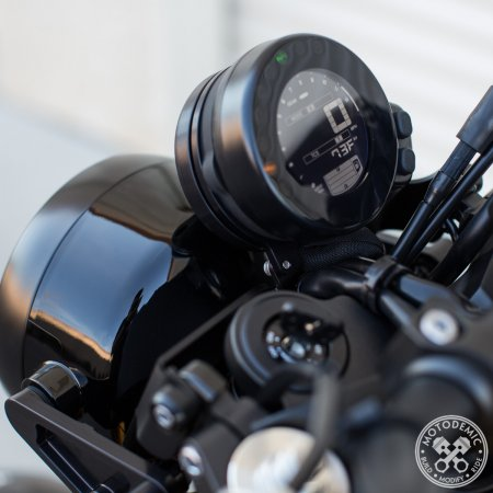 Gauge Relocation Kit by Motodemic