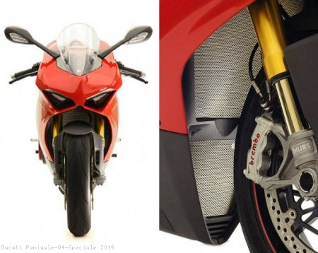 Oil Cooler Guard by MotoCorse Ducati / Panigale V4 Speciale / 2019