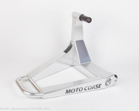 "Single Sided ""SBK"" Rear Stand by MotoCorse Ducati / Hypermotard 1100 EVO / 2011"