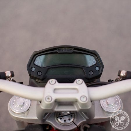 Adaptive LED Headlight Conversion Kit by Motodemic Ducati / Monster 1100 EVO / 2013