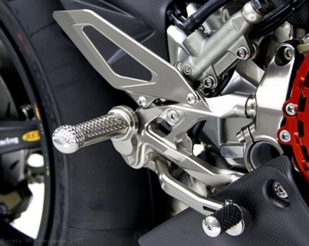 Adjustable Rearsets by MotoCorse Ducati / 959 Panigale / 2017