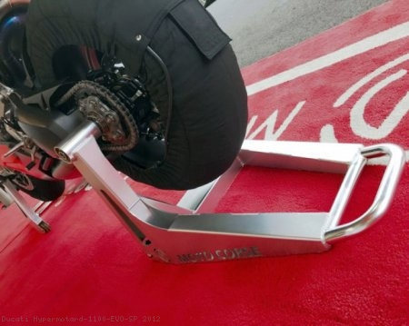 "Single Sided ""SBK"" Rear Stand by MotoCorse Ducati / Hypermotard 1100 EVO SP / 2012"