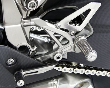 Adjustable Rearsets by MotoCorse Ducati / 959 Panigale Corse / 2018