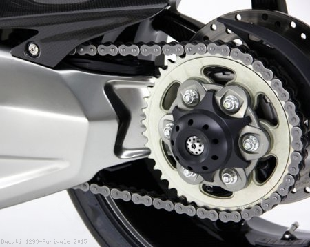 Rear Axle Slider with Spinner by Moto Corse Ducati / 1299 Panigale / 2015