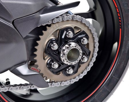 Rear Sprocket Carrier Flange by MotoCorse