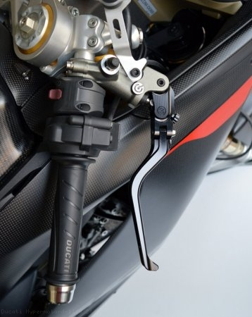 Folding Brake And Clutch Levers by MotoCorse Ducati / Hypermotard 1100 / 2009