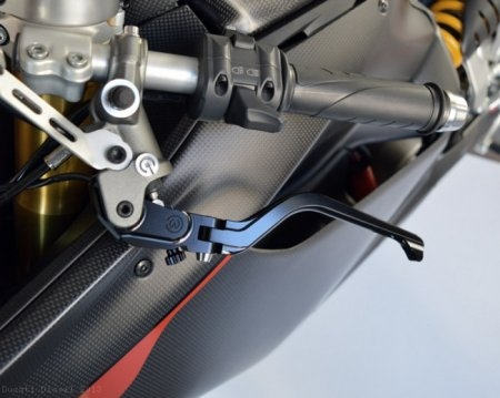 Folding Brake And Clutch Levers by MotoCorse Ducati / Diavel / 2013