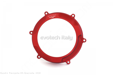 Clutch Cover and Pressure Plate Ring Kit by Evotech Italy Ducati / Panigale V4 Speciale / 2018