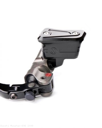 New Style Billet Brake Reservoir for Brembo Radial Master Cylinders by MotoCorse Ducati / Monster 696 / 2009