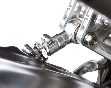 Rear Suspension Link Rod with Titanium Bolts by MotoCorse