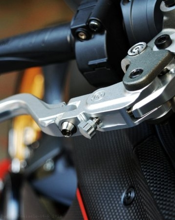 Folding Brake And Clutch Levers by MotoCorse Ducati / Panigale V4 R / 2020