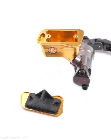 New Style Billet Brake Reservoir for Brembo Radial Master Cylinders by MotoCorse Ducati / Diavel / 2014