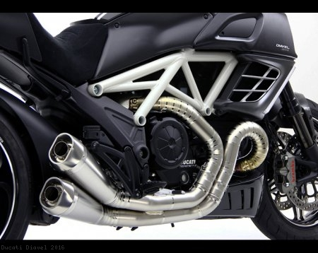 "MotoCorse ""GROSSO DUE"" Titanium Full System Exhaust Ducati / Diavel / 2016"
