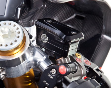 Billet Reservoirs for Brembo Radial Master Cylinders - Sportbike Version by MotoCorse