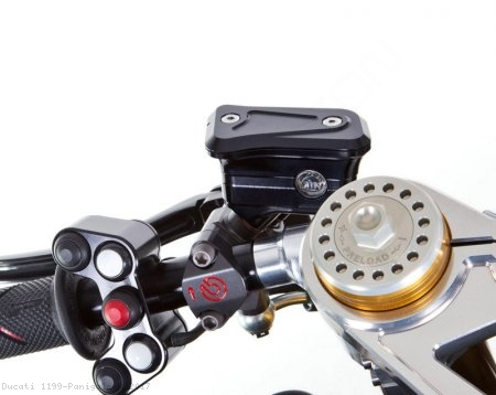 Billet Reservoirs for Brembo Radial Master Cylinders - Sportbike Version by MotoCorse Ducati / 1199 Panigale R / 2017