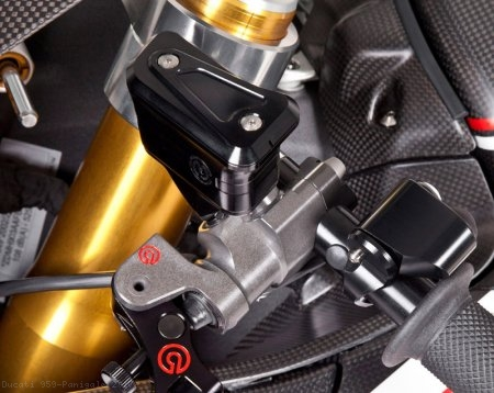Billet Reservoirs for Brembo Radial Master Cylinders - Sportbike Version by MotoCorse Ducati / 959 Panigale / 2017