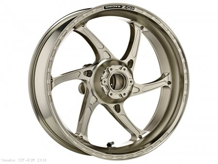 GASS RS-A Aluminum 6 Spoke Rear Wheel by OZ Wheels Yamaha / YZF-R1M / 2018