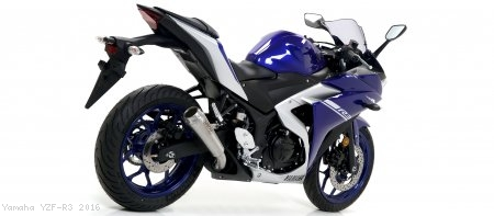 Pro Race Exhaust by Arrow Yamaha / YZF-R3 / 2016