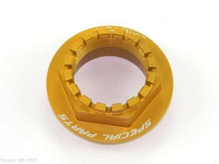 Rear Wheel Axle Nut by Ducabike Ducati / 848 / 2007