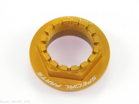 Rear Wheel Axle Nut by Ducabike Ducati / 848 EVO / 2014